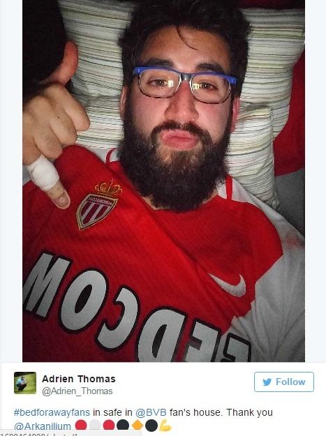 Fan Dortmund mo chien dich cho CDV Monaco ngu nho hinh anh 7