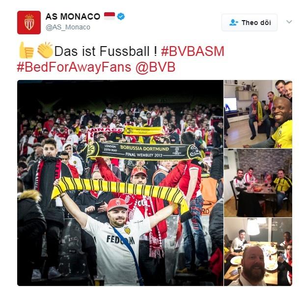 Fan Dortmund mo chien dich cho CDV Monaco ngu nho hinh anh 8