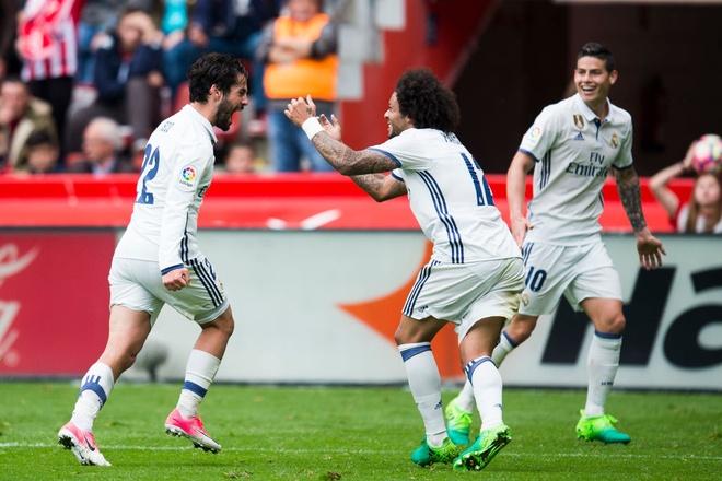 Marcelo va Real so huu thong ke dang ne sau tran thang nghet tho hinh anh 1