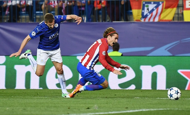 Tran Leicester vs Atletico anh 2