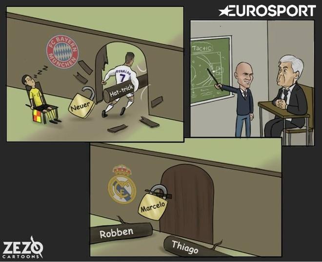 Biem hoa thi sinh Zidane hoc gioi con duoc cho nhin bai hinh anh 5