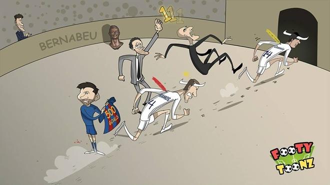 Biem hoa Messi mom day mau, dung cam co ngao nghe tren dau Real hinh anh 3