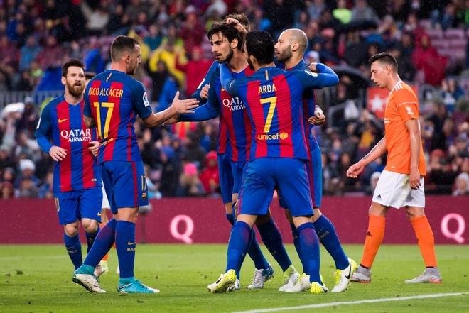 Kich ban nao de Barca vo dich La Liga? hinh anh 1
