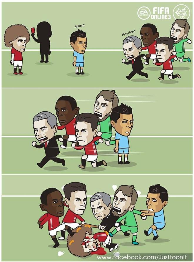 Anh che Mourinho tu ung cu lam trung ve MU hinh anh 8