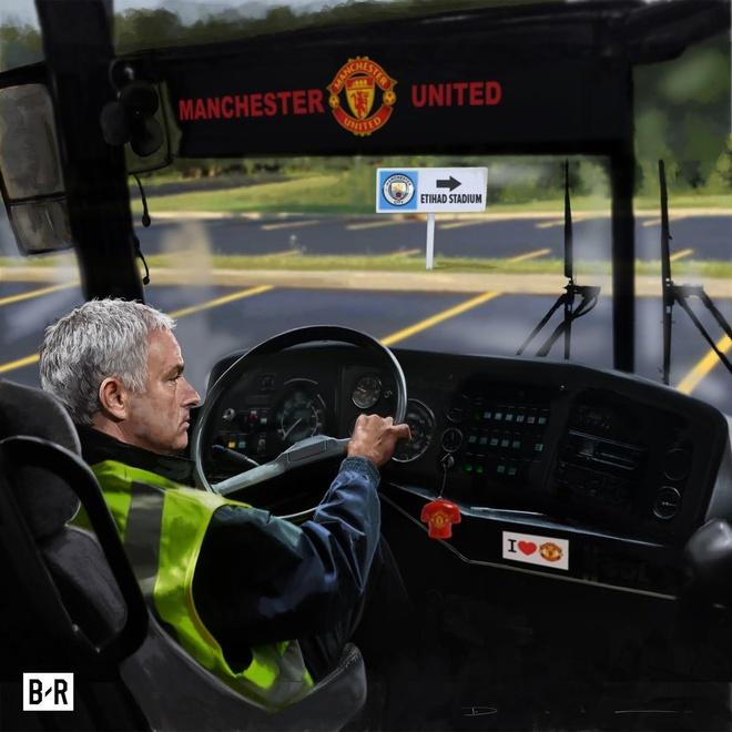 Anh che Mourinho tu ung cu lam trung ve MU hinh anh 4