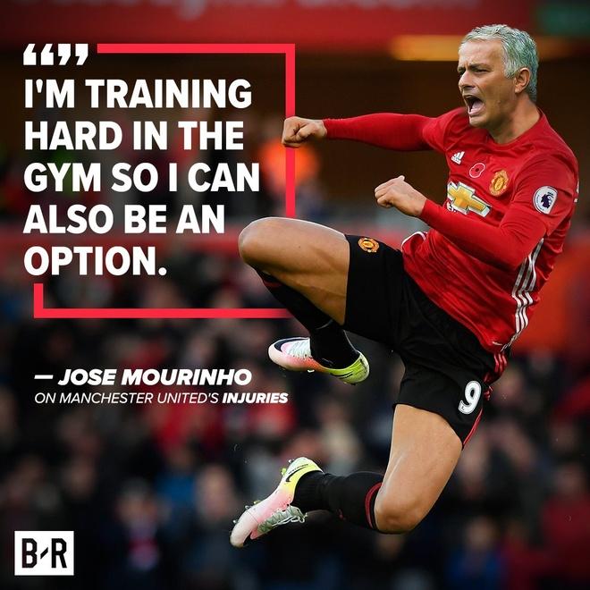 Anh che Mourinho tu ung cu lam trung ve MU hinh anh 1