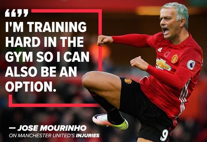 Anh che Mourinho tu ung cu lam trung ve MU hinh anh
