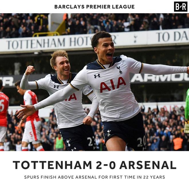 Tottenham cham dut 22 nam dau kho duoi bong ke dai thu hinh anh 1