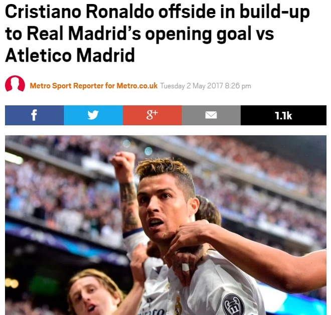 Tran Atletico vs Real Madrid anh 2