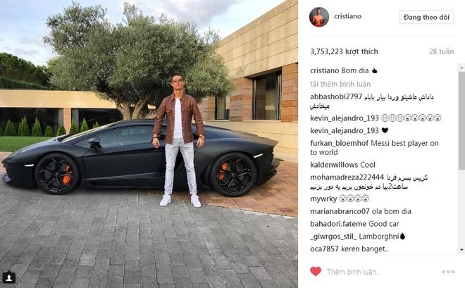 Ronaldo va 9 buc anh duoc tha tim nhieu nhat tren Instagram hinh anh 8