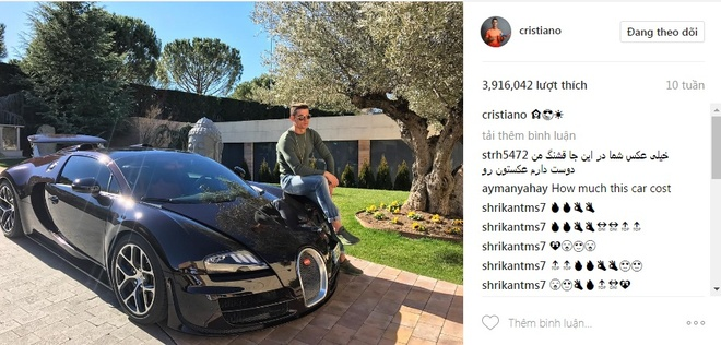 Ronaldo va 9 buc anh duoc tha tim nhieu nhat tren Instagram hinh anh 10