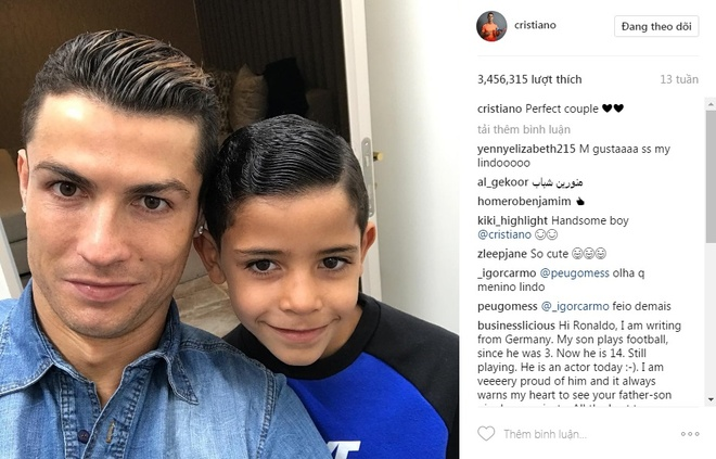 Ronaldo va 9 buc anh duoc tha tim nhieu nhat tren Instagram hinh anh 3