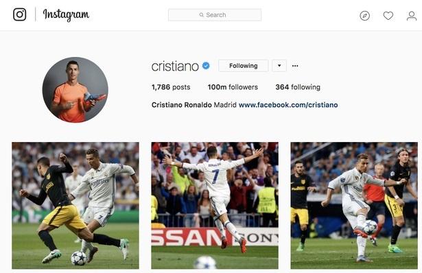 Ronaldo va 9 buc anh duoc tha tim nhieu nhat tren Instagram hinh anh 1