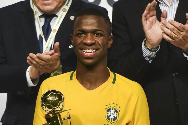 Real chi 45 trieu euro tau sao tre sang gia Brazil hinh anh 1