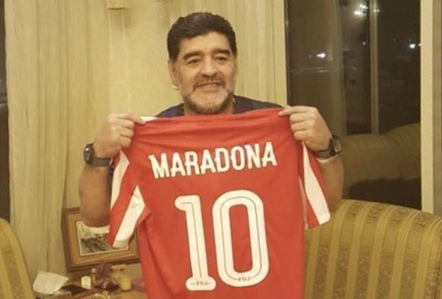 Maradona phieu bat kiem tien o giai hang hai UAE hinh anh 1