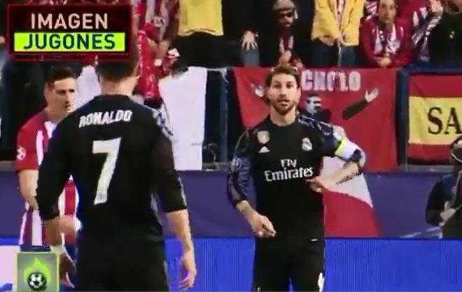 Ramos bay ke cho Ronaldo an va hinh anh