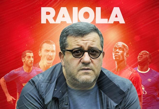 Raiola: Sieu co khuynh dao bong da va... Man Utd hinh anh
