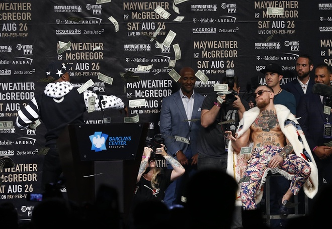 Mayweather vs McGregor anh 5