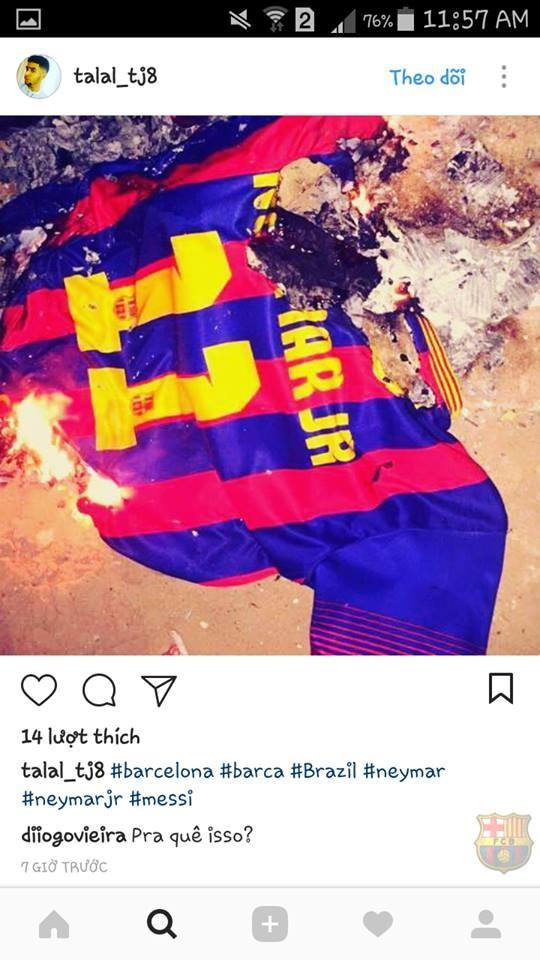 CDV Barca phan no dot ao 'ke phan boi' Neymar hinh anh 1