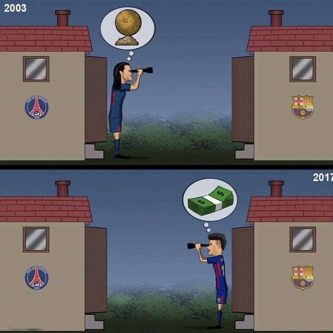CDV Barca phan no dot ao 'ke phan boi' Neymar hinh anh 9