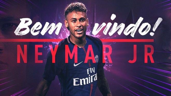 PSG chinh thuc cong bo sieu bom tan Neymar hinh anh