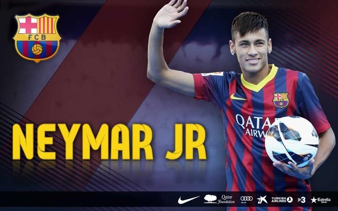 Neymar viet thu chia tay Barca day xuc dong hinh anh