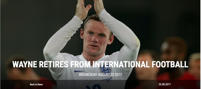 Rooney chinh thuc tu gia doi tuyen quoc gia Anh hinh anh 1