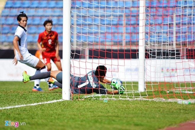 DT nu Viet Nam can thang cach biet 5 ban de vo dich SEA Games hinh anh 1