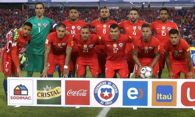 Vidal phan luoi, Chile guc nga 0-3 o vong loai World Cup hinh anh 1