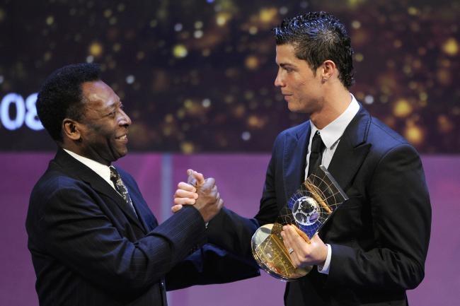 Pele thach thuc Ronaldo ghi hon 1.283 ban thang hinh anh