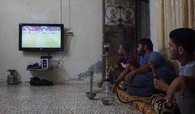 Ta toi vi chien tranh, Syria van lap ky tich o vong loai World Cup hinh anh 1
