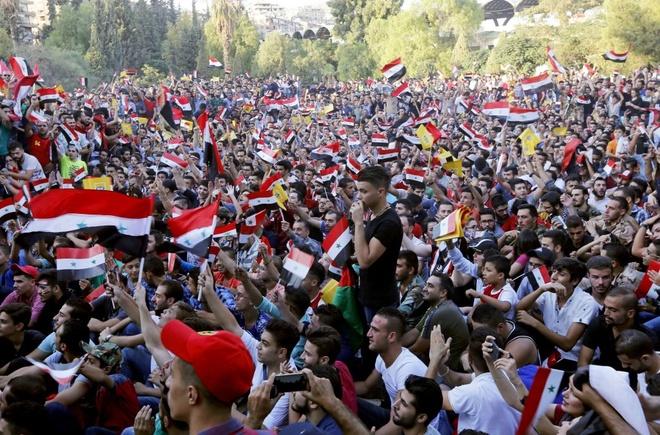Ta toi vi chien tranh, Syria van lap ky tich o vong loai World Cup hinh anh 2