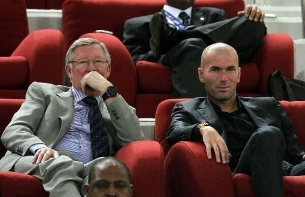 Zidane khong ve MU anh 1