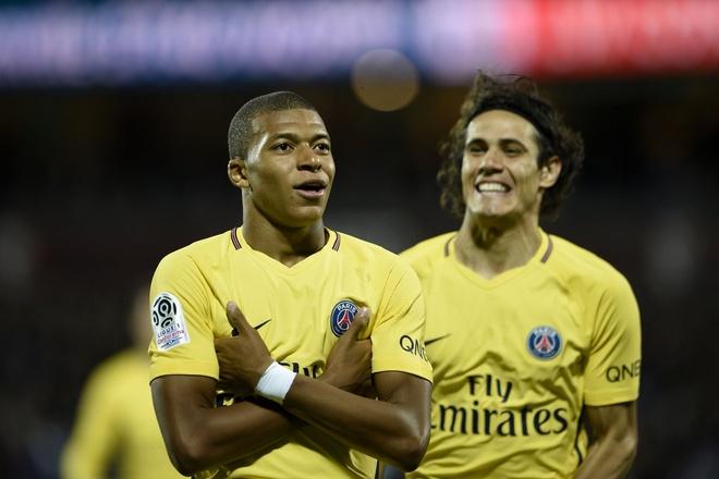 Mbappe va Neymar cung ghi ban giup PSG dai thang 5-1 hinh anh