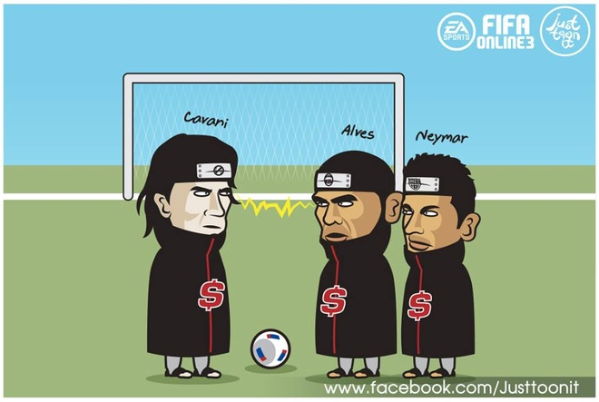 Hi hoa Cavani cuop do choi khien Neymar khoc nhu tre con hinh anh 3