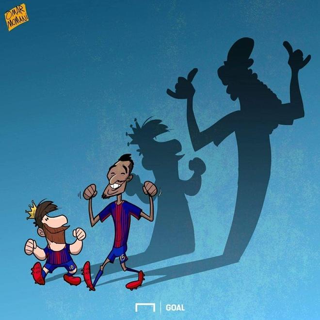Hi hoa Neymar tranh phat den nhung tron tra tien an hinh anh 4