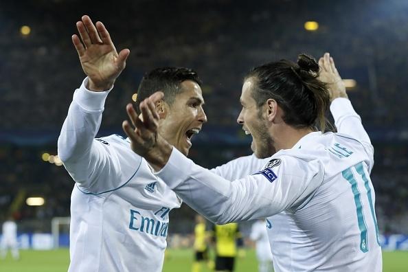 Song sat Ronaldo - Bale toa sang giup Real nhan chim Dortmund hinh anh