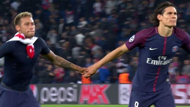 Neymar - Cavani the hien tinh cam tham thiet hinh anh 7