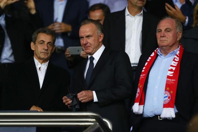 Hai cuu tong thong Phap chung kien PSG 'huy diet' Bayern hinh anh 5