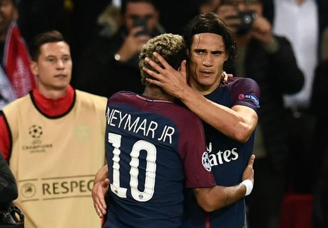 Neymar - Cavani the hien tinh cam tham thiet hinh anh 2