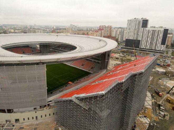 Ekaterinburg - SVD ky la phuc vu World Cup 2018 hinh anh 2