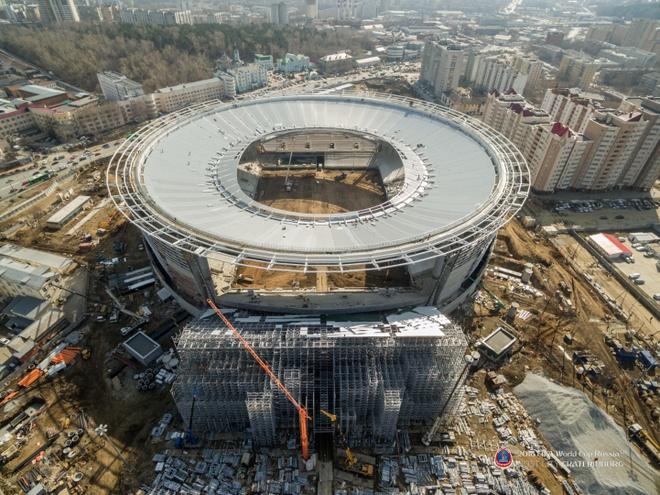 Ekaterinburg - SVD ky la phuc vu World Cup 2018 hinh anh 5