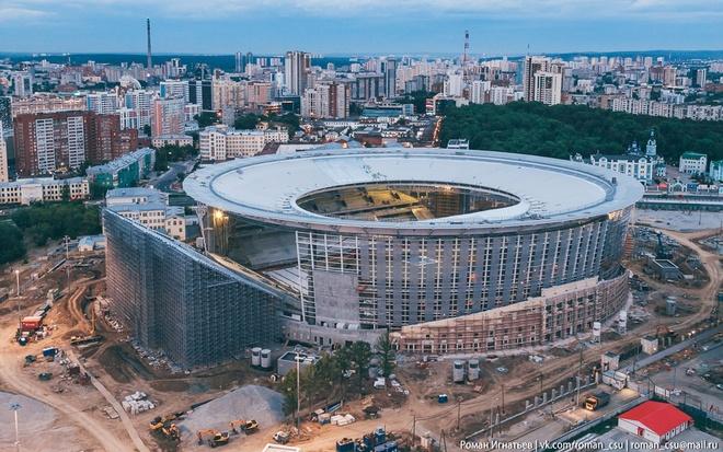 Ekaterinburg - SVD ky la phuc vu World Cup 2018 hinh anh 6