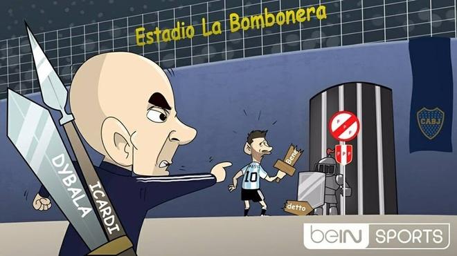 Biem hoa Messi bo tay voi cach dieu quan cua Sampaoli hinh anh 1