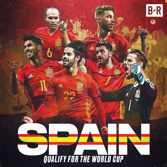 Sao Real ruc sang giup Tay Ban Nha doat ve di World Cup hinh anh 11
