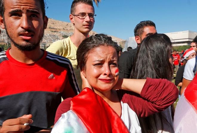 Syria chim trong bien nuoc mat khi giac mo World Cup lui tan hinh anh