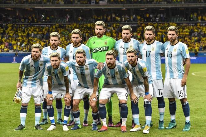 Anh che vi cuu tinh Messi cong lung ganh ta Argentina hinh anh 2