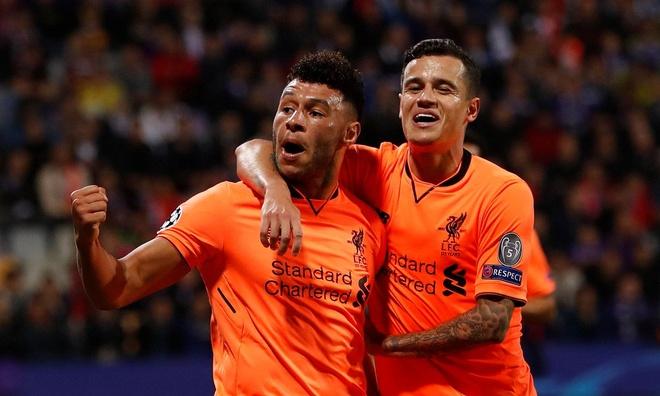 Firmino va Salah lap cu dup, Liverpool vui dap Maribor 7-0 hinh anh