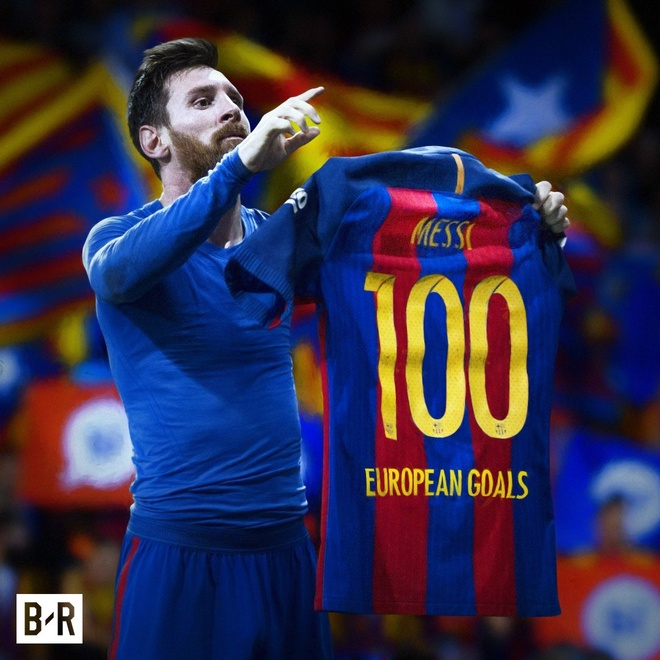 Messi lap ky luc o dau truong chau Au hinh anh 2