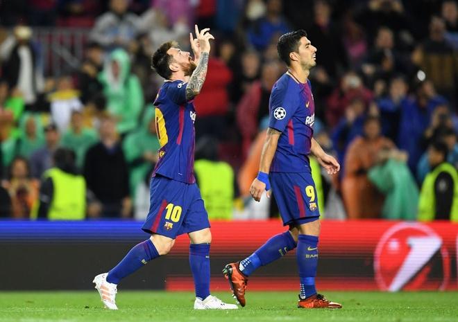 Messi lap ky luc o dau truong chau Au hinh anh 6